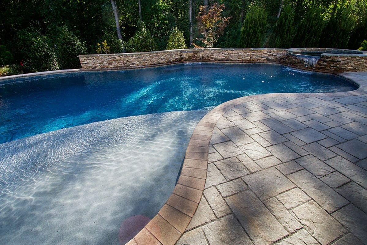 Pool Design Pictures Oasis With Firepit Blue Haven Raleigh
