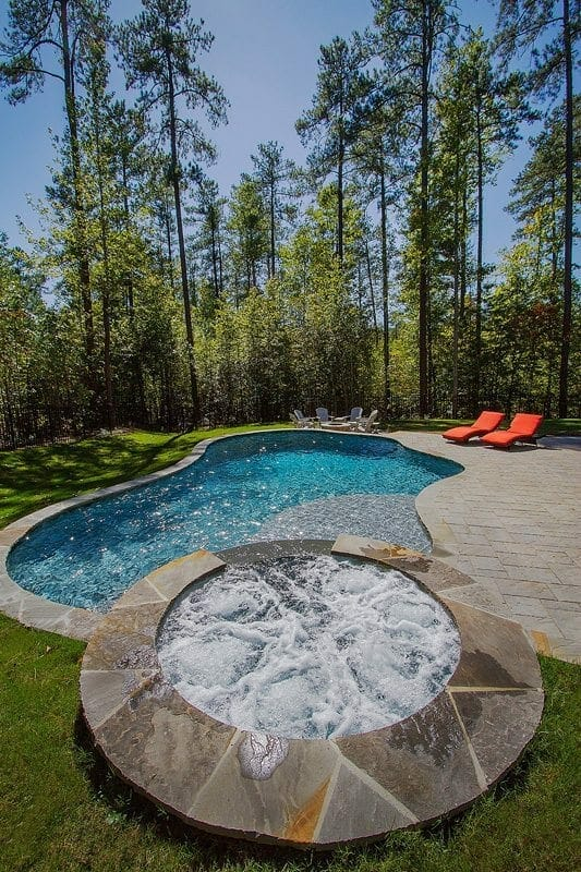 Pool spa installer chapel hill nc blue haven for Pool design raleigh nc