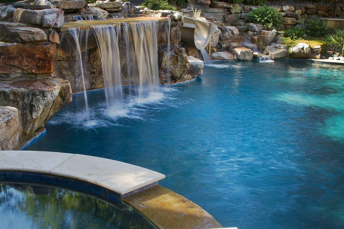 Pool raleigh blue haven pools and spas technology for Pool design raleigh nc