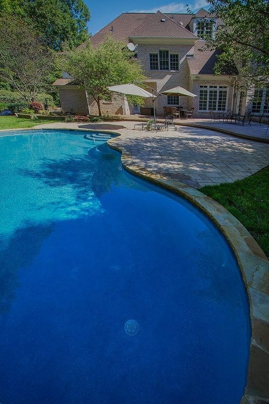 Pool raleigh blue haven raleigh pools and spas technology for Pool design raleigh nc