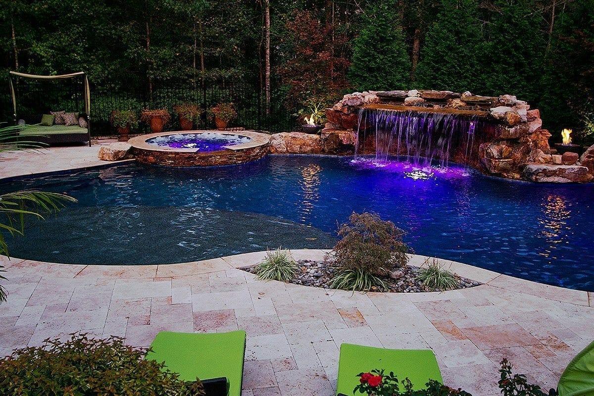 Custom pool builders in raleigh nc for Pool design raleigh nc