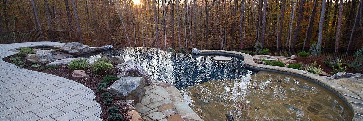 Wake Forest, NC Custom Pool & Hardscape - Case Study