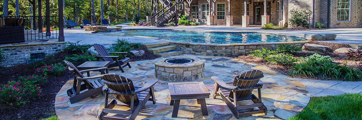 Raleigh, NC Custom Pool & Hardscape Project - Case Study