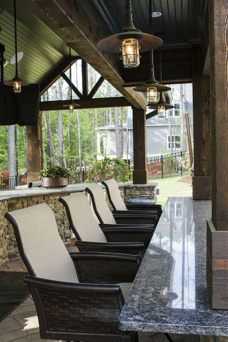 Custom Built Outdoor Kitchens