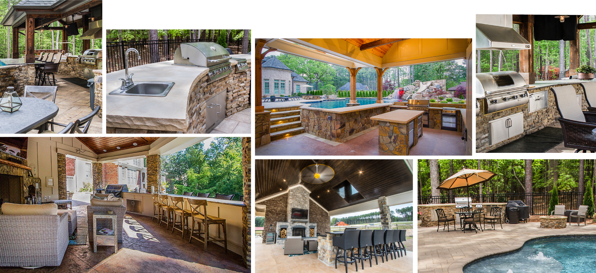Swell Outdoor Kitchen Designs With Pool Raleigh Nc Blue Haven Download Free Architecture Designs Scobabritishbridgeorg